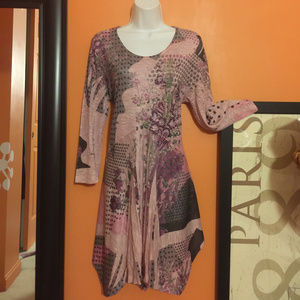 Gypsy Embellished Hippi Tunic Top